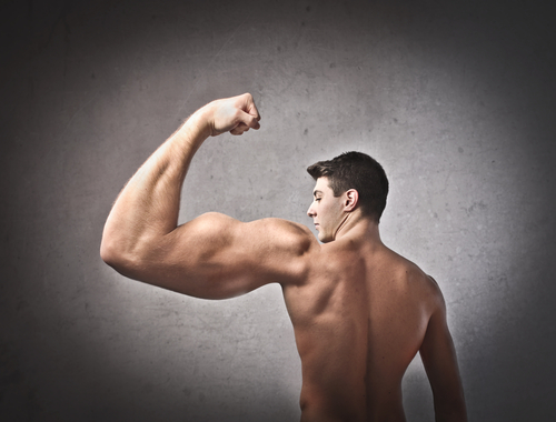 huge arm