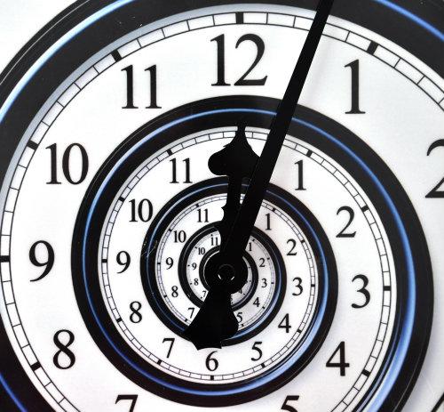 spiral -wall-clock