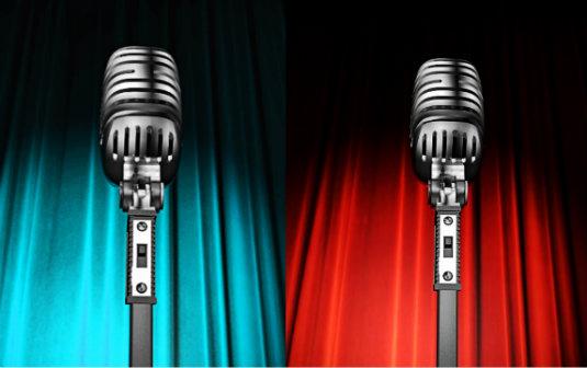 2 different speeches