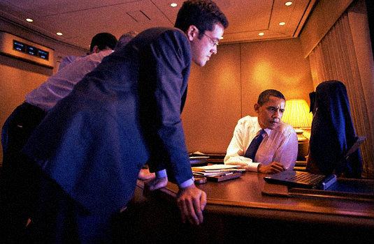 Adam Frankel and President Obama