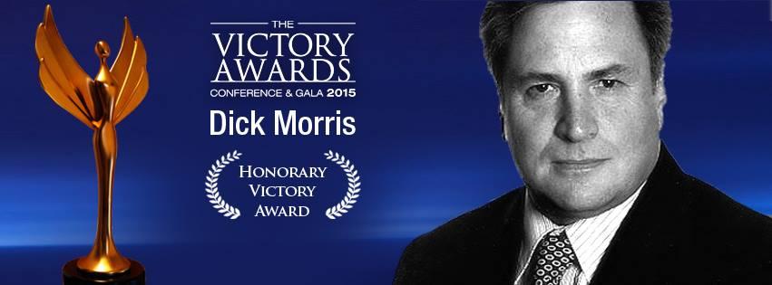 Dick Morris keynote speaker del Victory Awards