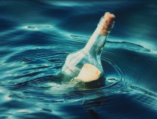 lost message in a bottle