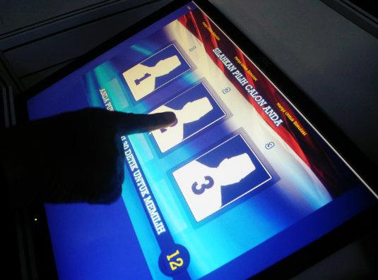 el voto electronico