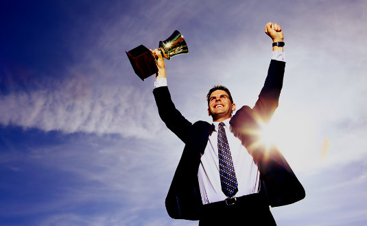 soñar con el éxito