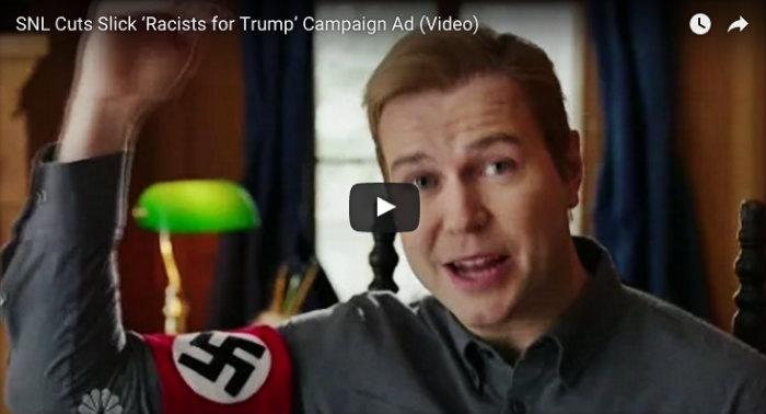 SNL Racist for Trump