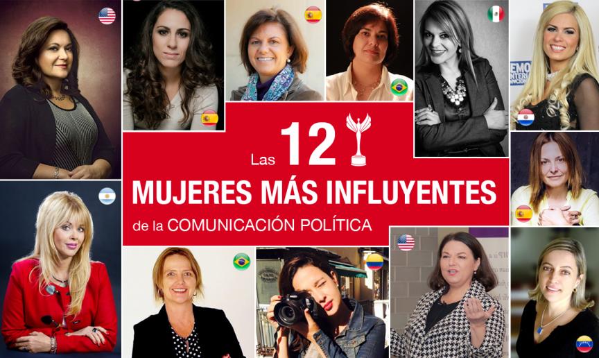 VictoryWomen Las 12 mujeres más influyentes de la comunicación política