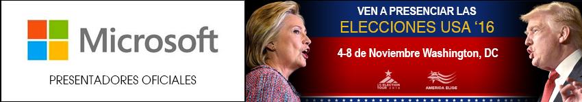 Seminario Conferencia Elecciones Estados Unidos USA 2016 Clinton Trump